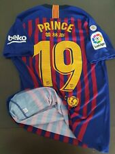 Match Un Worn Shirt Chinese New Year PRINCE BOATENG FC Barcelona 2019