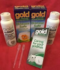 Disease Safe 2 X 100ml Makes Goldfish Better FREE GUIDE White Spot Fungus Finrot