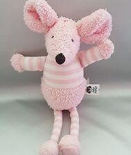 New*jellycat bunny mouse pink bredita mouse soft toy plush