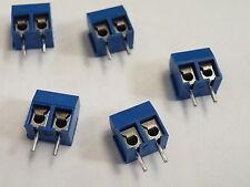 5pc 2 Pin Screw PCB Terminal Block Connector Cascade 15A # EA01