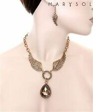 Mixed Metals Stone Fashion Necklaces & Pendants