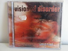 CD ALBUM VISION OF DISORDER Imprint RR 8796 2  HARDCORE