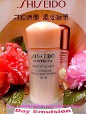 ◆Shiseido◆ Benefiance WrinkleResist24 DAY Emulsion (15ml) Brand New FREE POST!