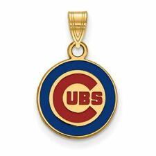 SS w/GP MLB  Chicago Cubs Small Enamel Pendant