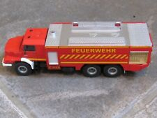 SIKU Mercedes Benz Airport Fire Engine Feuerwehr 1/50 scale diecast