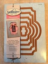 Spellbinder Nestabilities Dies LABELS TWENTY-ONE (5 Templates) S5-027 New