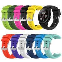 22mm Soft Silicone Watch Band Strap for HUAMI Amazfit 2/1 Generation Samrt Watch