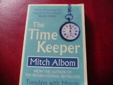 THE TIME KEEPER-MITCH ALBOM-PB-AS NEW