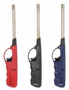 3 x Stabfeuerzeug XXL Feuerzeug 27 cm lang befüllt und nachfüllbar Gasfeuerzeug