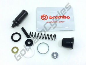 Ducati Brembo 13mm Front Rear Brake Clutch Master Cylinder Pump Seal Rebuild Kit