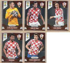 Croatia Hrvatska 2014 Panini Prizm World Cup Team Set - Cards: 5