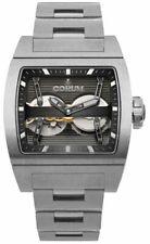 New Corum Ti-Bridge Dual Winder Titanium Men's Watch 207.201.04/V250 0000