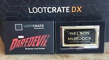 Marvel's Daredevil Business Card Holder **Loot Crate DX Exclusive** Not In Shops
