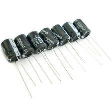 100 pcs 1000uF 10V Radial Electrolytic Capacitor 8x12mm