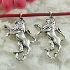 Free Ship 180 pieces Antique silver dog charms 28x16mm #641