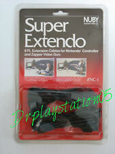 Nintendo Nes Console Controller Extension Cable New Two Cables In Pack