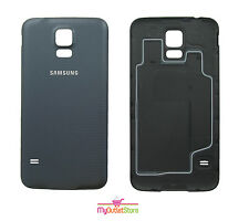 Genuine Samsung Galaxy S5 Battery Back Cover Rear Door Case Cover Black