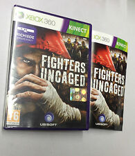 FIGHTERS UNCAGED  XBOX 360 USATO FUNZIONANTE