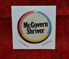 """McGovern Shriver 1972 Political Litho 1 1//2/"""" Button Look!"""