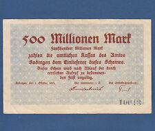 Sodingen 500 millones de marcos 1923 II -/XF -