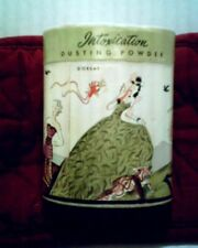 VINTAGE D'ORSAY WOMEN'S DUSTING POWDER 4 1/2 OZ WITH THE ORIGINAL POWDER PUFF