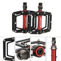 "GUB GC010 MTB Road Bike Pedals Alloy Sealed Bearing Platform Flat 4.4x3.8"" Pedal"