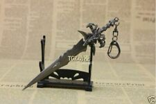 New WOW Delicate Frostmourne Sword weapon alloy keychain model Pendant Gift