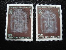 VATICAN - timbre yvert et tellier n° 1106 x2 obl (A28) stamp (Z)