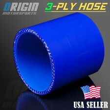 3″ Inch 76mm STRAIGHT COUPLER SILICONE HOSE TURBO INTAKE INTERCOOLER PIPE BLUE