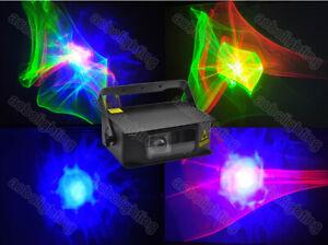 RGB Farbe Aurora LED Laser Bühnenbeleuchtung Projektor Romantische Effekte Licht