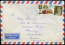 Spain 1980 Commercial Airmail Cover To UK #C31284
