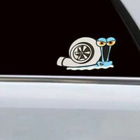Funny Turbo Snail Decal Car Stickers Styling Bumper Window Home Wall Decoration