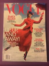 VOGUE MAGAZINE DECEMBER 2018- EMILY BLUNT SOARS AS MARY POPPINS