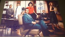 """MASTERS OF SEX Cast x4 Authentic Hand-Signed """"Michael Sheen"""" 11x17 Photo (PROOF)"""