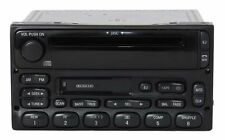 2002 Ford E450 Super Duty Van AM FM Radio Cassette CD Player Part XL2F-18C868-AB