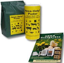 HEXA-Vetyl Poudre anti-vermine Bac à poussière+Pack de recharge @@@HEKA: