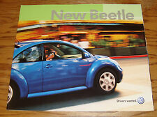 Original 2002 Volkswagen VW New Beetle Deluxe Sales Brochure 02
