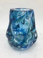 Vaso vintage in vetro di Murano anni 90