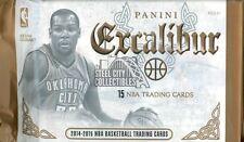 2014-15 Panini Excalibur Basketball Premium Hobby 15-Card Pack