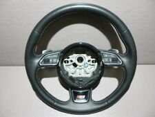 Audi S6 4G Leder Lenkrad Chrom Schaltwippen steering wheel A6 A7 S A8 4G0419091A