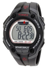 Timex T5k4179j Mens Silver Dial Digital Quartz Watch With Resin Strap