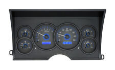 1988-94 Chevy GMC C/K 1500 2500 Dakota Digital Carbon Fiber / Blue Gauge Kit