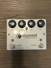 Diamond Memory Lane JR V2 Delay Pedal Guitar Effect Tap Tempo and Dotted 8th