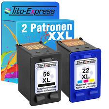 HP 56 & 22 XL Druckerpatrone für Officejet 5610V HP22