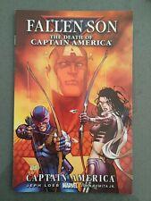 Fallen Son Death of Captain America #3 Michael Turner Cover Clint Kate Marvel