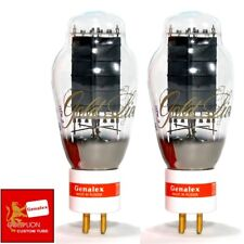 New Genalex Reissue PX300B / 300B GOLD PIN Vacuum Tubes - Matched Pair