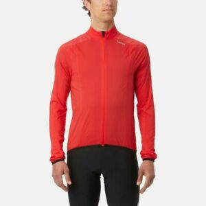 Giro Chrono Expert Wind Cycling Jacket - Bright Red