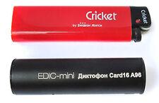 Long recording digital Voice Recorder Edic-mini CARD16 A96 65hours 8GB Spy Bug