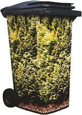 Wheelie Bin Cover Conifer Hedge 004