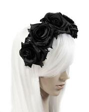 Black Plastic Costume Hair & Head Jewellery